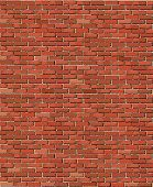 A vector illustration of an old brick wall