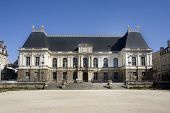 The regional Parliament building of Brittany, Rennes, France.  This 17th century landmark is now use