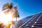 Solar Energy Power Generator For Sustainable Development poster