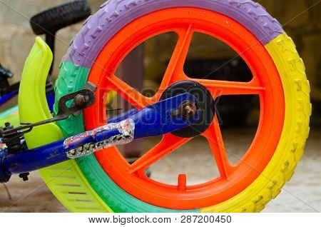 Close Up Of Wheel Of