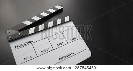 Clapper Board Or Movie Slate