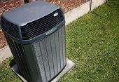 picture of air conditioner  - High efficiency modern AC - JPG