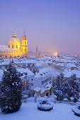 Prague In Winter