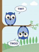 Tree twit twoo.