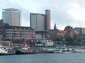 Hamburg Port In Germany