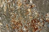 Abstract Background Texture. Abstract Blurred Background. Painted Metal Rust Texture. Decay Metal Ba poster