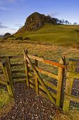 picture of william wallace  - Loudoun Hill Ayrshire Scotland - JPG