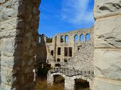 Castle Ruins in the Sun