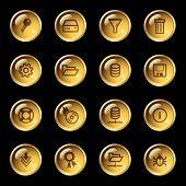 Gold Drop Server Icons