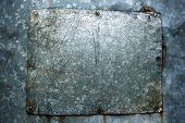 Screwed Iron Plate