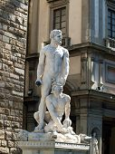 Florence - Sculpture Hercules and Cacus