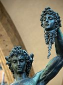 Florence - Perseus holding the head of Medusa by Cellini