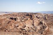 mountains in Atacama desert