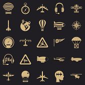 Atmosphere Icons Set. Simple Set Of 25 Atmosphere Vector Icons For Web For Any Design poster