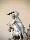 Florence - Hercules beating the Centaur Nessus.