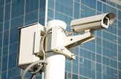Independent security cameras in the city