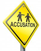 false accusation pointing finger  or getting fired accuse other picking person select volunteer guil