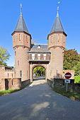 Medieval castle ''De Haar''  in the Netherlands