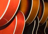 Abstract Guitar Bodies