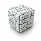 Cubo de teclado
