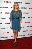 LOS ANGELES - OCT 15:  Olivia Holt arrives at  Nylon's October IT Issue party at London West Hollywood on October 15, 2012 in Los Angeles, CA