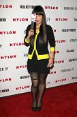 LOS ANGELES - OCT 15:  Hana Mae Lee arrives at  Nylon's October IT Issue party at London West Hollyw