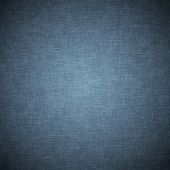 Dark blue vintage fabric background or texture