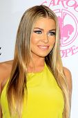 LOS ANGELES - OCT 20:  Carmen Electra arrives at  the 26th Carousel Of Hope Ball at Beverly Hilton Hotel on October 20, 2012 in Beverly Hills, CA