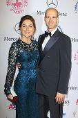 BEVERLY HILLS - OCT 20:  Sasha Alexander, Edoardo Ponti at the 26th Carousel Of Hope Ball at The Bev