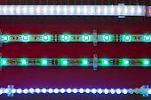 fitas de luz LED