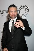 LOS ANGELES - OCT 22:  Anson Mount arrives at  the Paley Center for Media Annual Los Angeles Benefit