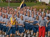 Coast Guard Cadets In Training At Cape May, N.J