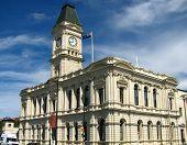 Historic Building, Oamaru, New Zealand poster