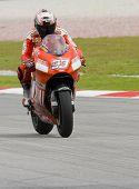 2008 Italian Marco Melandri Of Ducati Marlboro Team