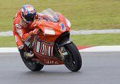 2008 Australian Casey Stoner Of Ducati Marlboro Team
