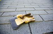 Roofing And Glove = Work To Do