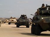 Us Army Moves Forward