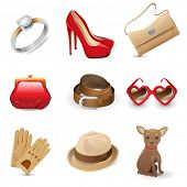 Fashion women's accessories set