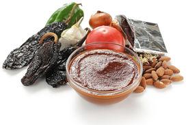 pic of pasilla chili  - mole sauce - JPG