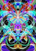 foto of trippy  - Digital Artworks Ethnic Style - JPG