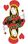 Queen of hearts no card