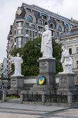 Great Kiev Duchess Olga, Apostle Andrew, Saints Cyril And Methodius
