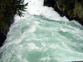 Rapids Near Taupo New Zealand.