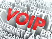 VOIP. El concepto de Wordcloud.