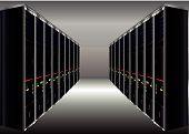 Centro de datos de computadora