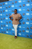 LOS ANGELES - JUL 31:  Alex Newell arrives at the 2013 Do Something Awards at the Avalon on July 31,