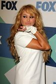 SLOS ANGELES - 1 de AUG: Paulina Rubio chega na festa à H do SoHo TCA Fox All-Star verão 2013