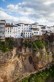 Puente muy famoso en Ronda