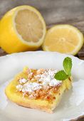 Ice Box Lemon Bars