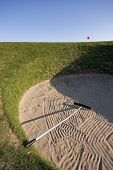 Road Hole Bunker 17Th Hole, Old Course, St Andrews